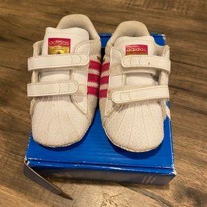 Adidas Superstar Pink Size 3 infant
